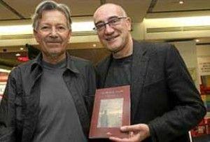 """Kim y Antonio Altarriba autores de """"El arte de volar"""""""
