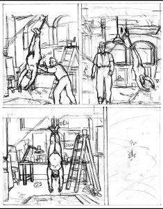 Página 21, boceto