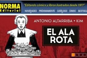 "NORMA ""EL ALA ROTA"" ya en español"