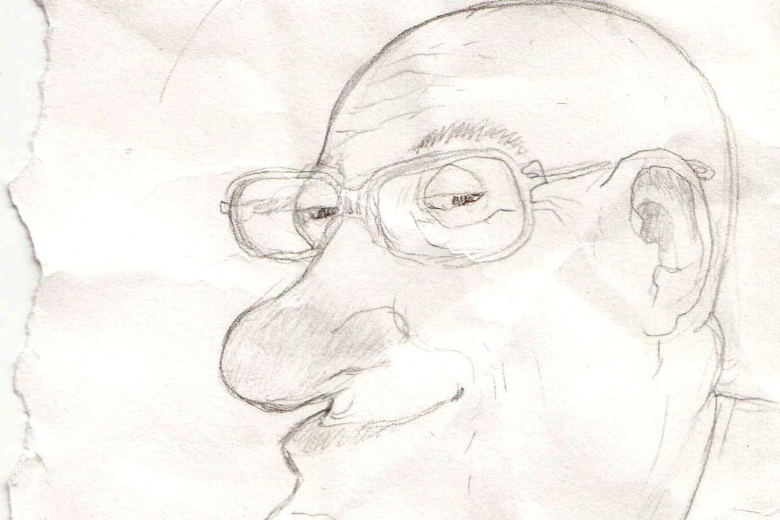 Caricatura realizada por Toni Sandoval