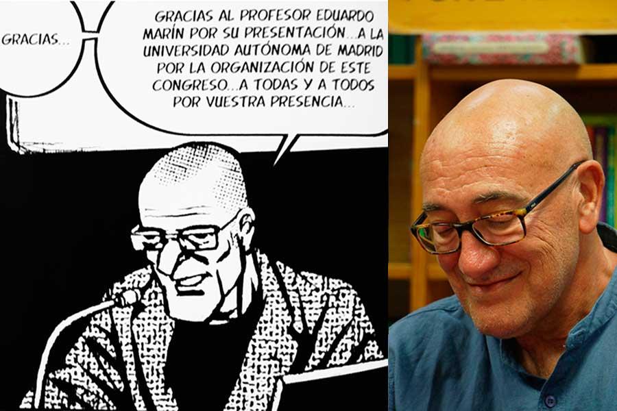 Mesa redonda con el profesor Enrique Rodríguez Ramírez.