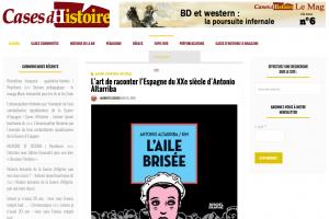 Casesdhistoire.com. L'art de raconter l'Espagne du XXe siècle d'Antonio Altarriba. LAURENT LESSOUS