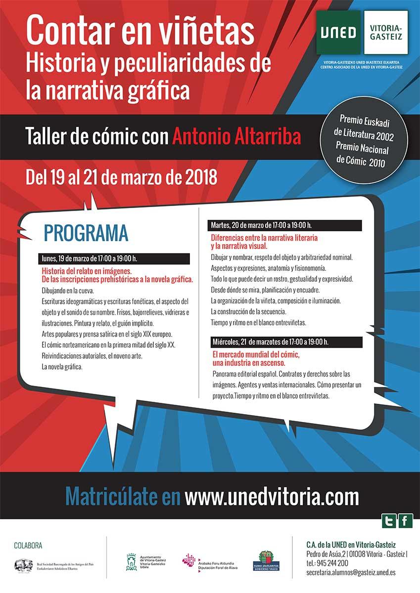 Curso en la Uned en Vitoria/Gazteiz del 19 al 21 de marzo de 2018 ...