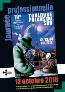 Cartel 10ª edición de Toulouse Polars Du Sud